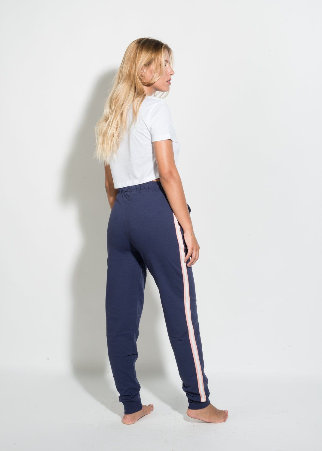 TRACKSUIT PANTS WITH RIBBON