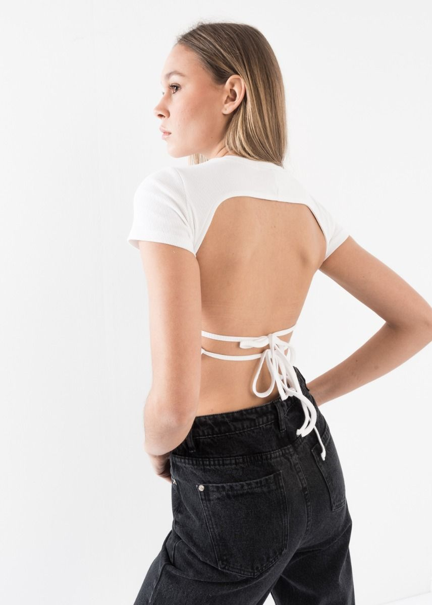 CUT-OUT BACK TOP