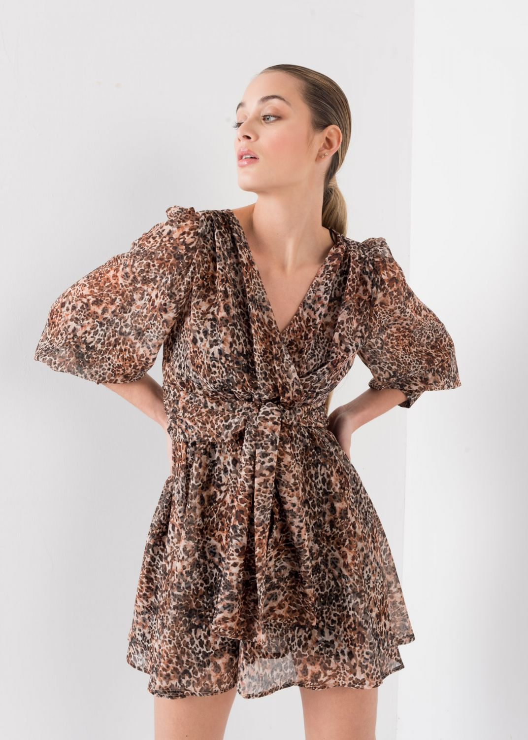 ROBE D'IMPRESSION ANIMALE